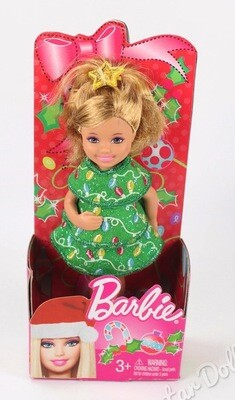 2012 Christmas Kelly Barbie, Doll