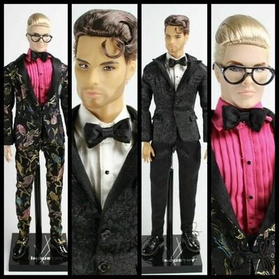 2019 Integrity Toys: The Industry LOVE IS LOVE Cabot Clark & Milo Montez DE-BOXED Doll Set
