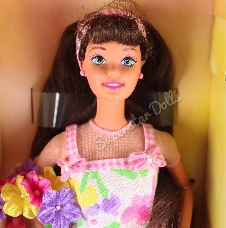 1996 Special Edition: Avon Spring Petals Brunette Barbie Doll
