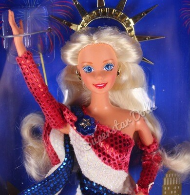1995 Limited Edition F.A.O Schwarz Statue of Liberty Barbie Doll