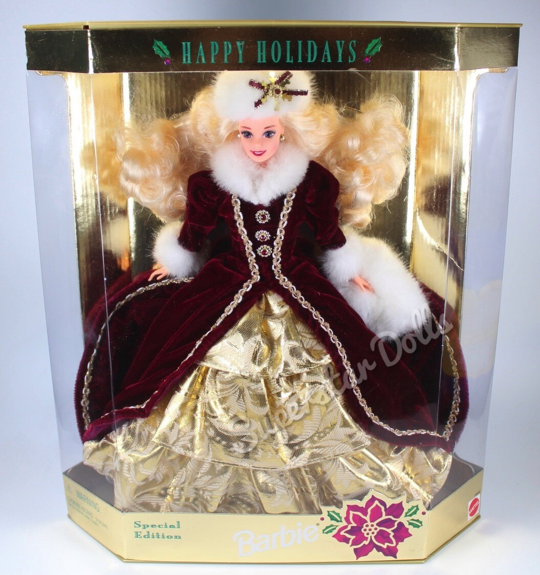 1996 Special Edition: Happy Holidays Barbie Doll