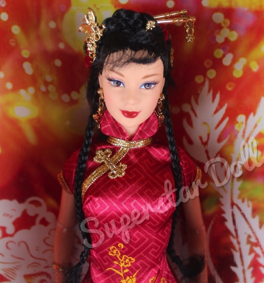 2005 Pink Label: Festivals of the World, Chinese New Year Barbie Doll