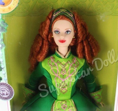 2006 Pink Label: Festivals of the World, Irish Dance Barbie Doll
