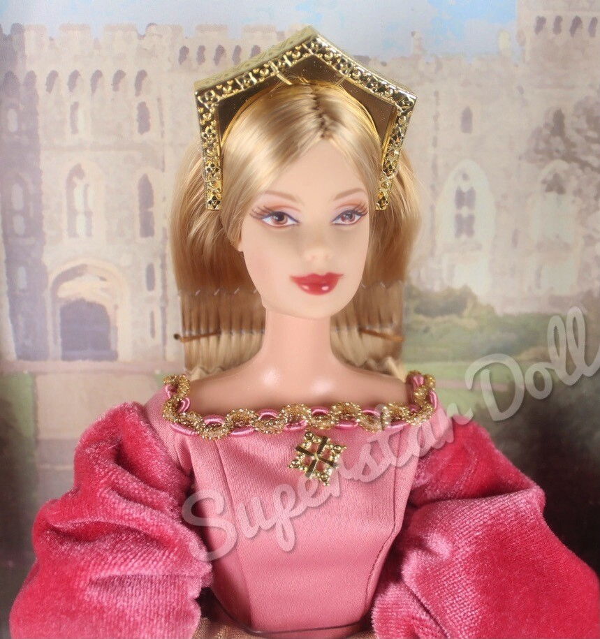 2003 Princess of England Barbie Doll from the Dolls of the World Collection