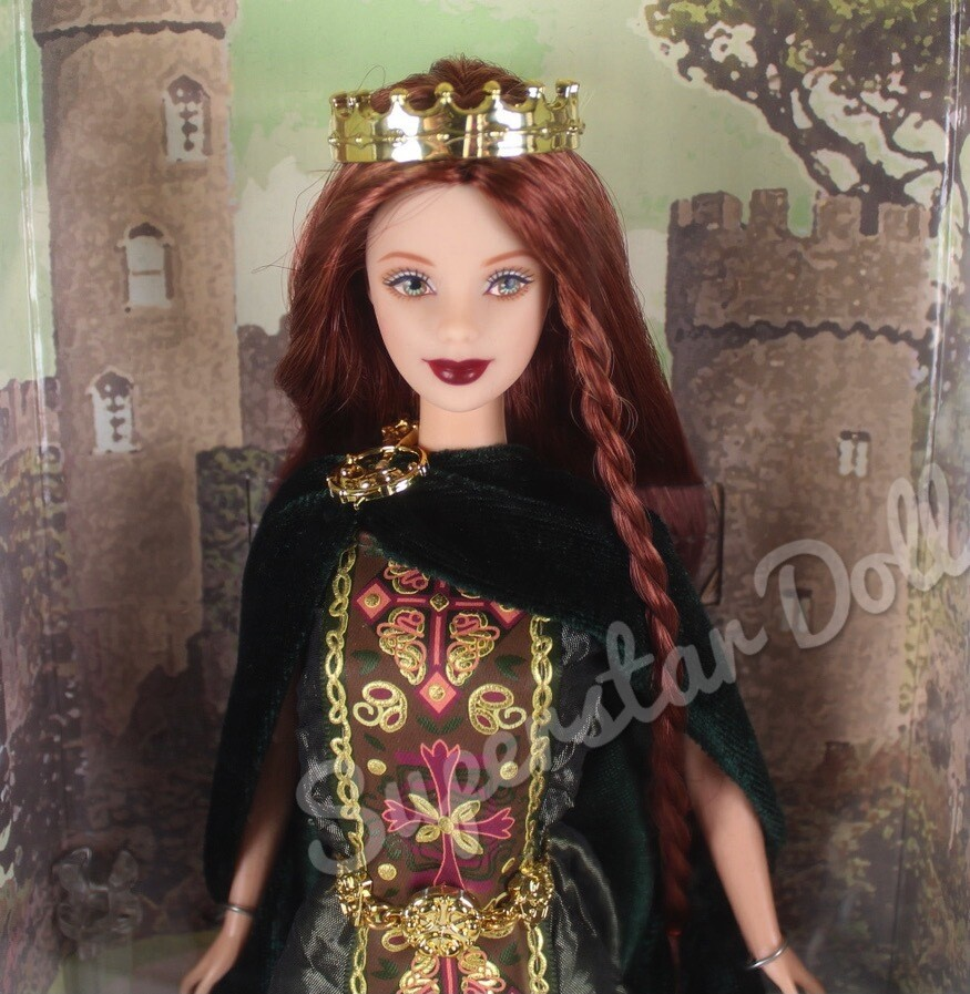 2001 Princess of Ireland Barbie Doll from the Dolls of the World Collection
