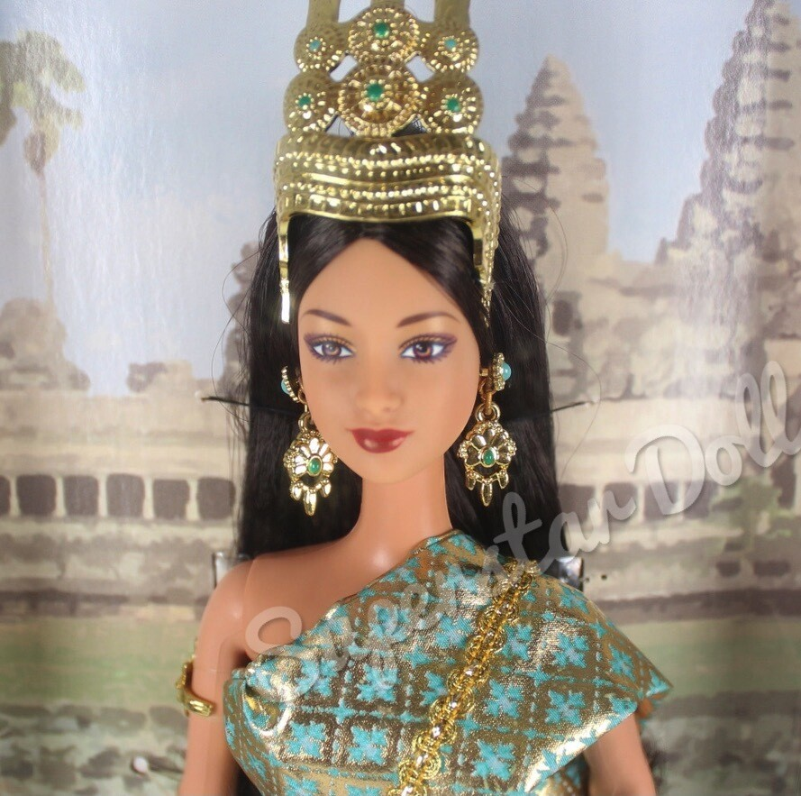 2003 Princess of Cambodia Barbie Doll from the Dolls of the World Collection