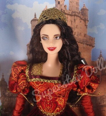 2002 Princess of the Portuguese Empire Barbie Doll from the Dolls of the World Collection