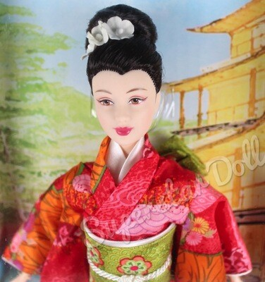 2003 Princess of Japan Barbie Doll from the Dolls of the World Collection