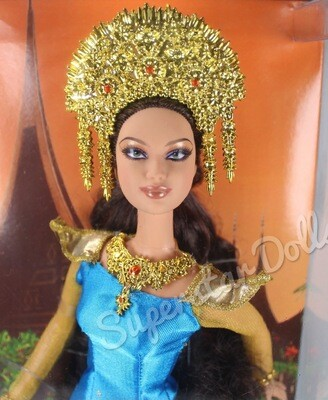 2007 Pink Label: Sumatra Indonesia Barbie Doll from the Dolls of the World Collection