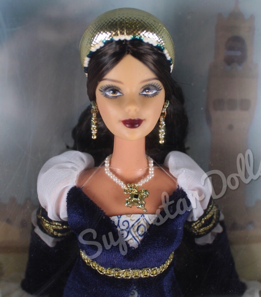 2004 Princess of the Renaissance Barbie Doll from the Dolls of the World Collection