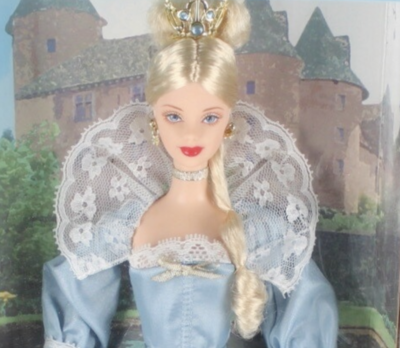 2002 Princess of the Danish Court Barbie Doll from the Dolls of the World Collection