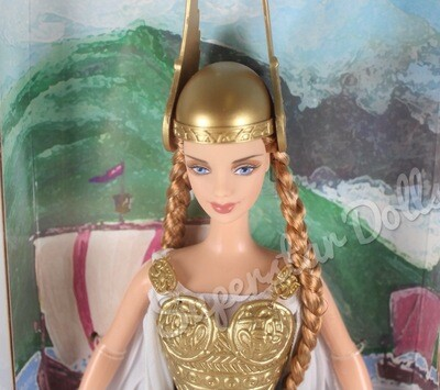 2003 Princess of the Vikings Barbie Doll from the Dolls of the World Collection