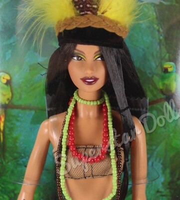 2008 Pink Label: Amazonia Barbie Doll from the Dolls of the World Collection