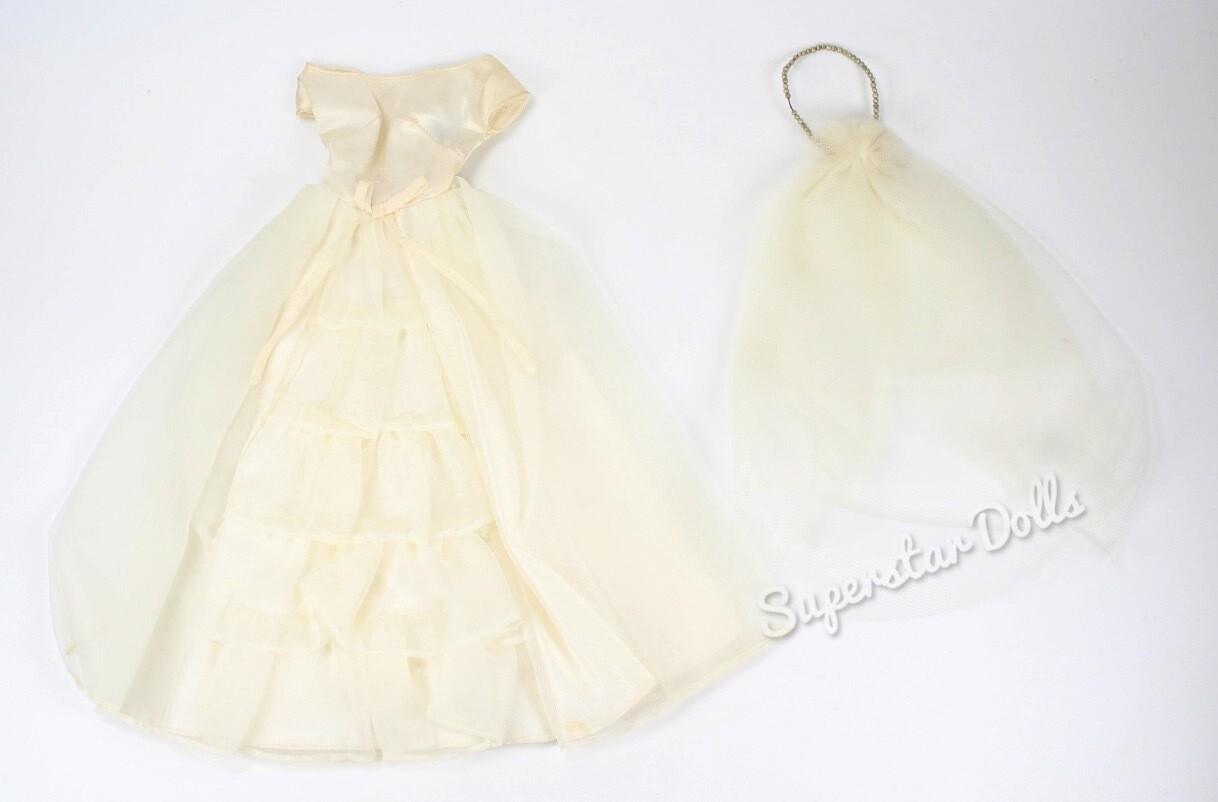 Vintage 1960's Bride's Dream #947 Barbie Doll Fashion