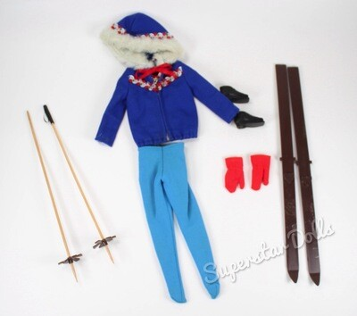 Vintage 1960's Ski Queen #948 Barbie Doll Fashion