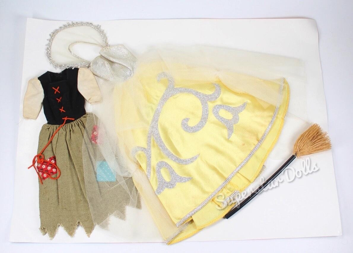 Vintage 1960's Cinderella #972 Barbie Doll Fashion SET