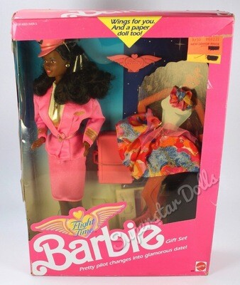 1989 Flight Time African American (AA) Barbie Doll