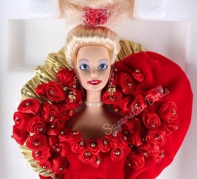 1995 Limited Edition: Mattel 50th Golden Anniversary Porcelain Barbie Doll