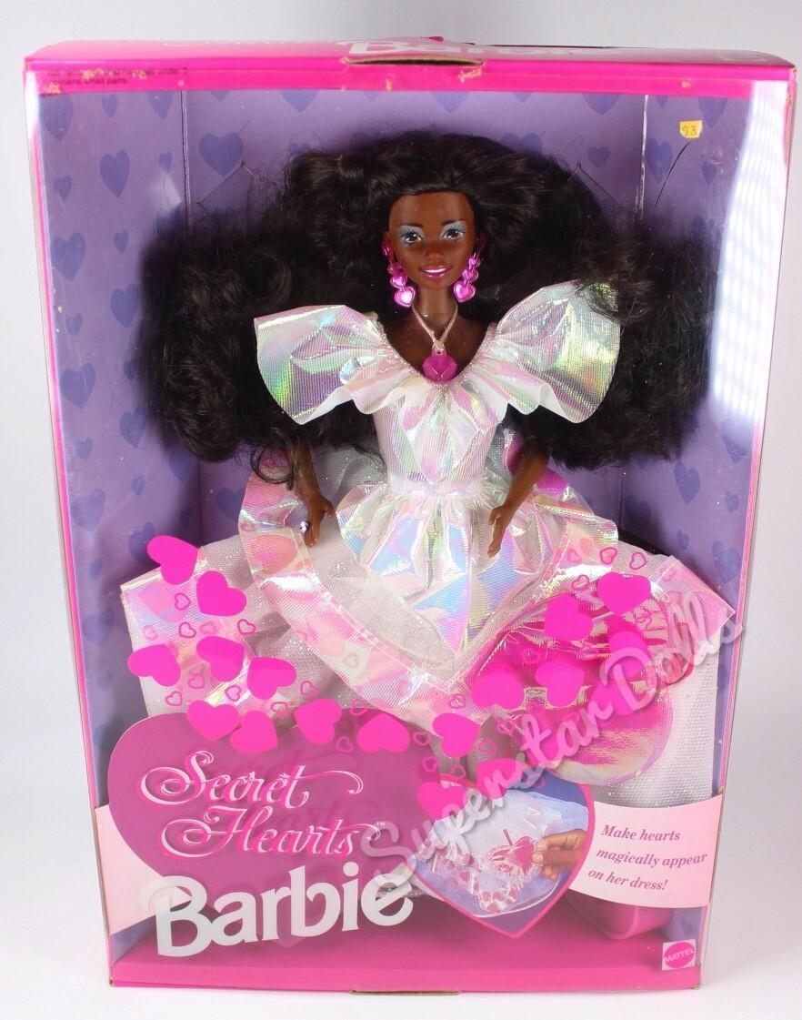 1992 Secret Hearts African American (AA) Barbie Doll