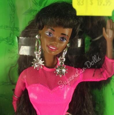 1992 Earring Magic African American (AA) Barbie Doll