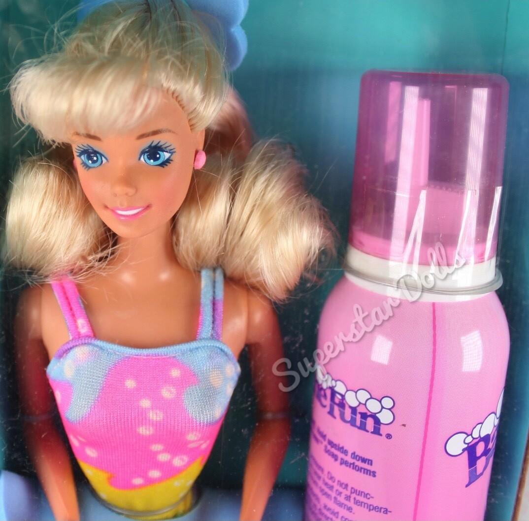 1990 Bathtime Fun Barbie Doll