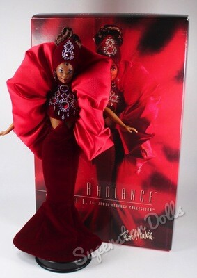 1996 Bob Mackie Ruby Radiance African American (AA) DE-BOXED Barbie Doll