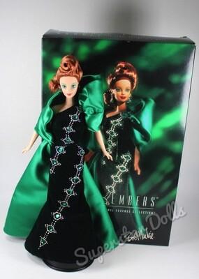 1996 Bob Mackie Emerald Embers DE-BOXED Barbie Doll