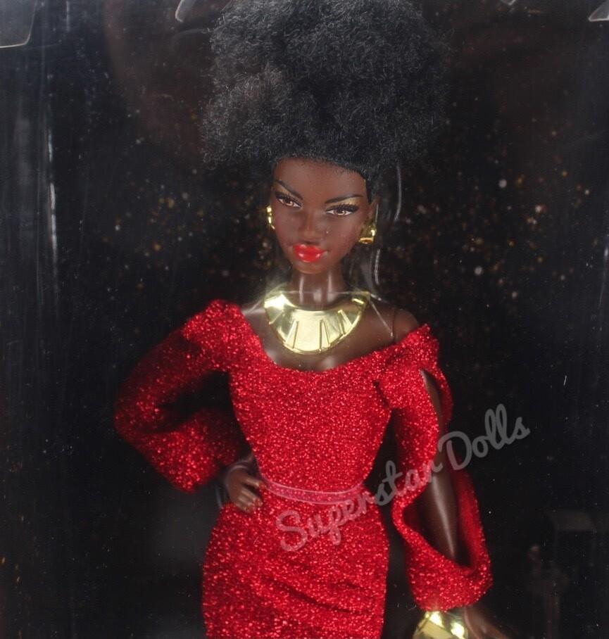 2019 Black Label: 40th Anniversary First Black Barbie Doll