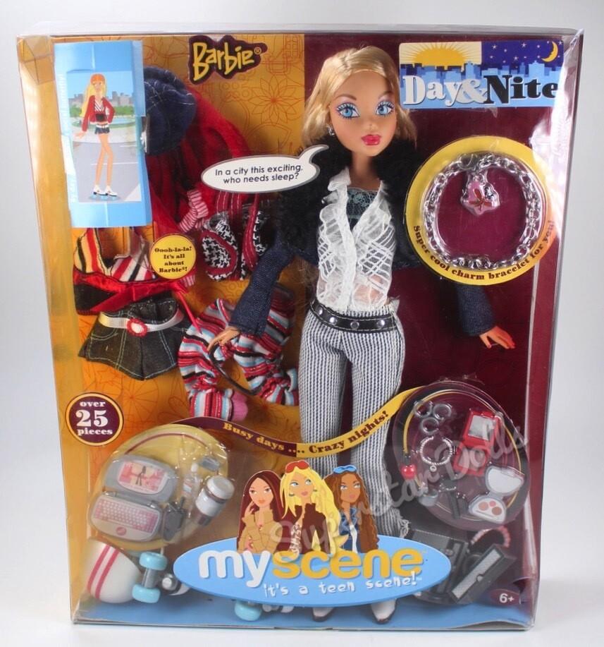 2004 My Scene Day & Nite Barbie Doll