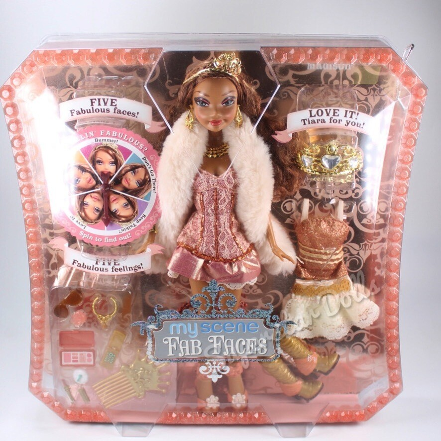 2006 My Scene Fab Faces Madison Barbie Doll
