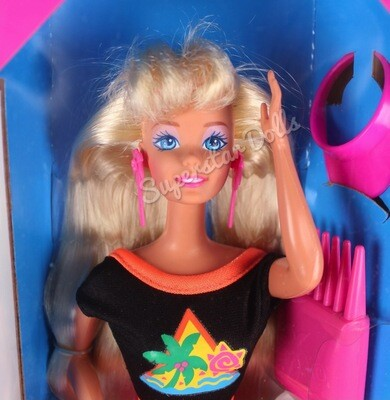 1993 Glitter Hair Blonde Barbie Doll
