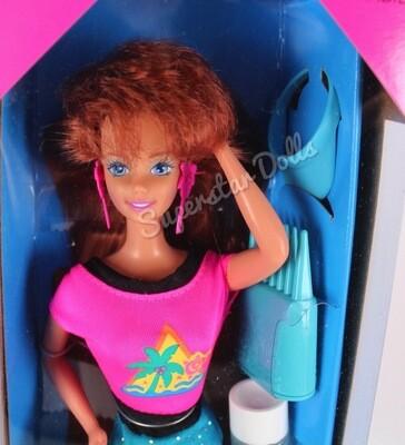1993 Glitter Hair Redhead Barbie Doll