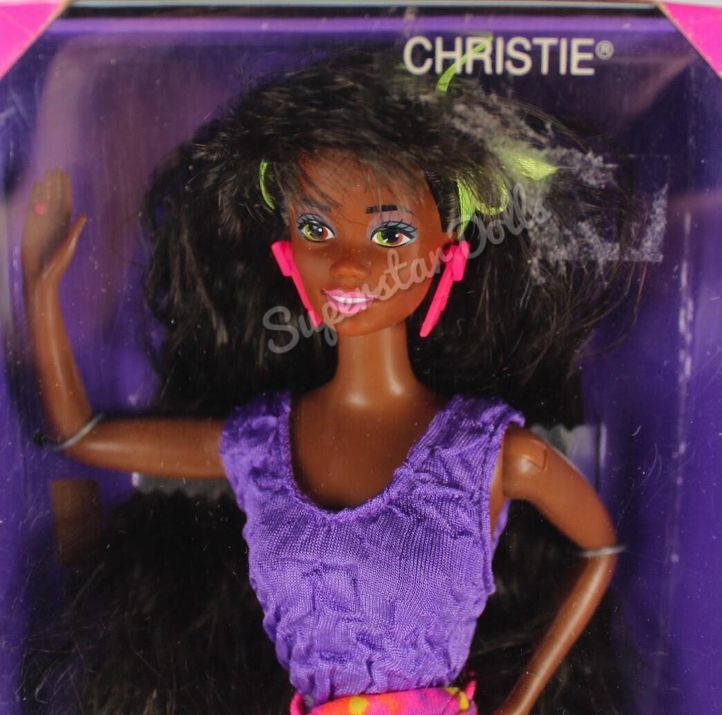 1991 Rollerblade Christie African American (AA) Barbie Doll