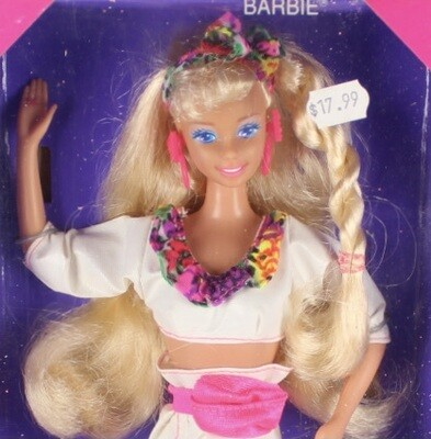 1991 Rollerblade Barbie Doll