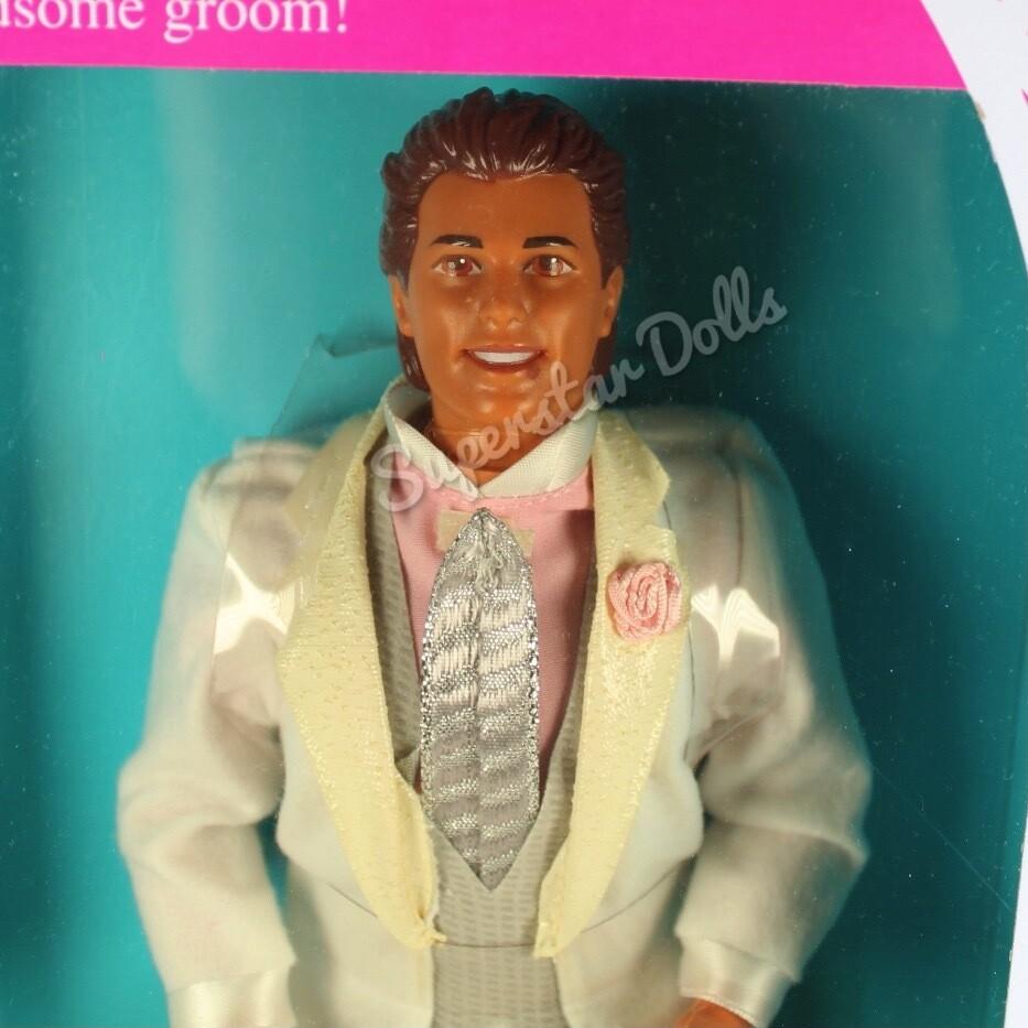 1990 Wedding Day Alan Barbie Doll