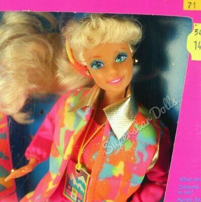 1990 Ski Fun Barbie Doll