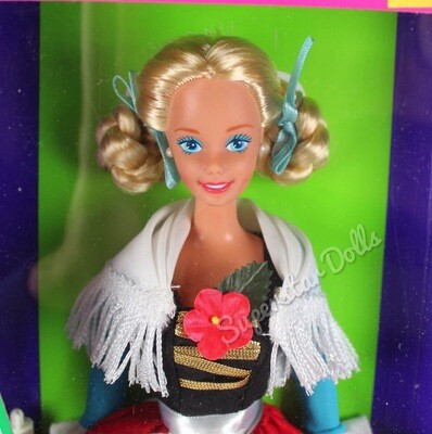 1994 German Barbie Doll from the Dolls of the World Collection