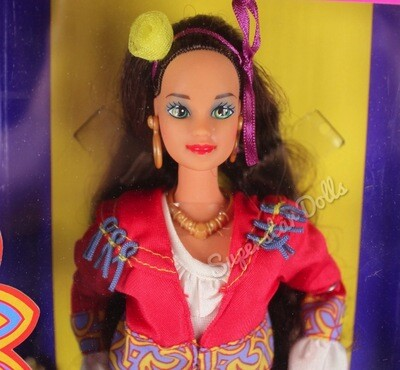 1993 Italian Barbie Doll from the Dolls of the World Collection