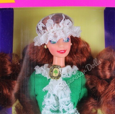 1994 Irish Barbie Doll from the Dolls of the World Collection