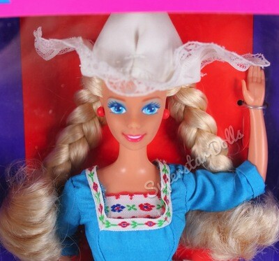 1993 Dutch Barbie Doll from the Dolls of the World Collection