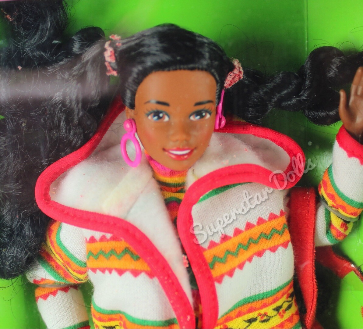 1990 United Colors of Benetton Christie African American (AA) Barbie Doll