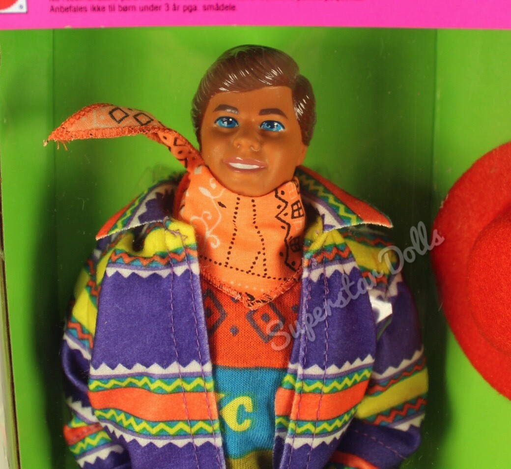 1990 United Colors of Benetton Ken Barbie Doll