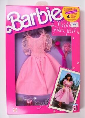 1989 Wedding of the Year Barbie Doll Fashion #3790