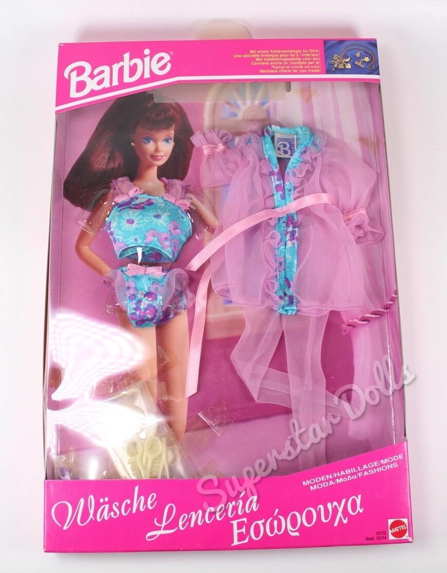 1994 Moda Barbie Doll Fashion Lingerie Set #12172