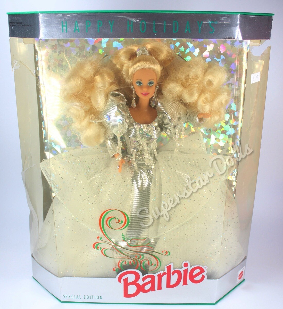 1992 Special Edition Happy Holidays Barbie Doll