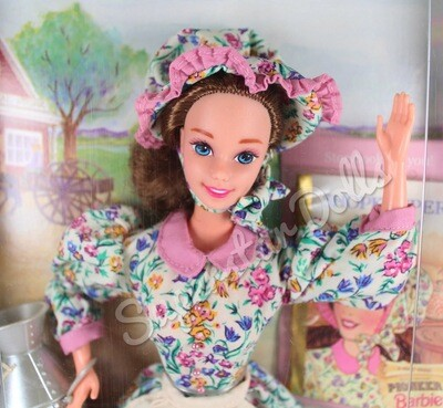 1995 Collector Edition: 2nd Edition Pioneer Barbie Doll from the American Stories Collection
