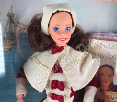 1994 Special Edition: Pilgrim Barbie Doll from the American Stories Collection