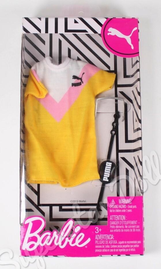 2019 Puma Barbie Doll Fashion Pack #GHX81