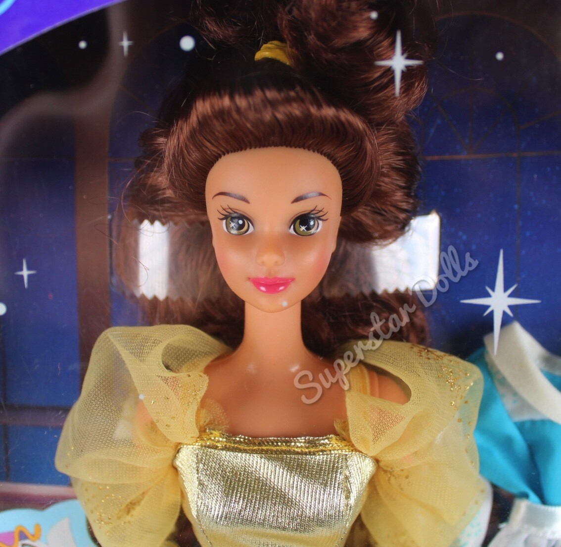 1991 Disney Classics: Belle from Beauty and the Beast Fashion Doll By Mattel