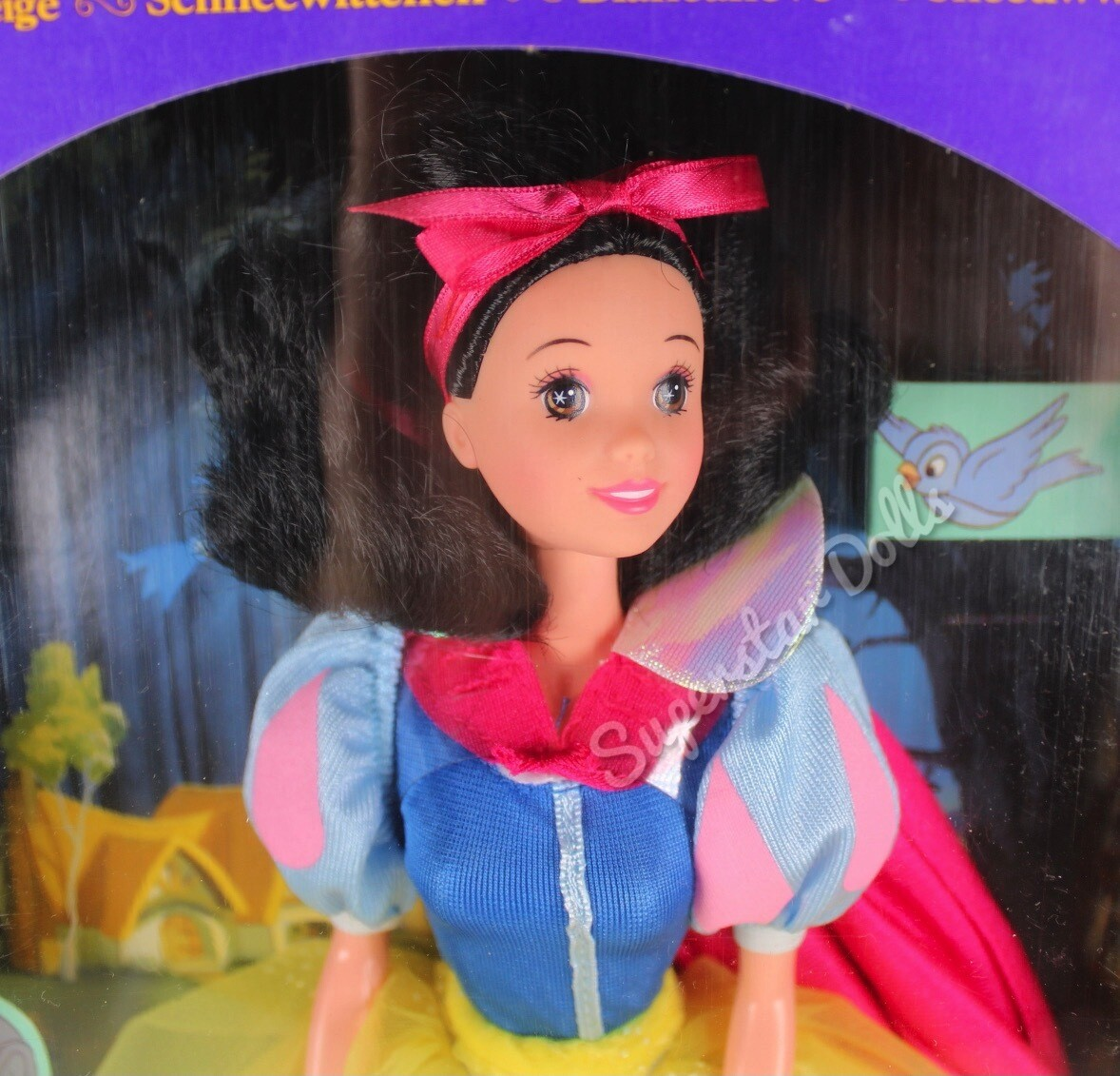 1992 Disney Classics: Snow White from Snow White & the Seven Dwarfs Fashion Doll By Mattel